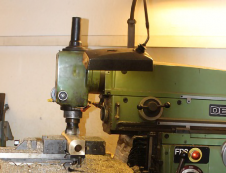 Maskinering og sveisearbeid